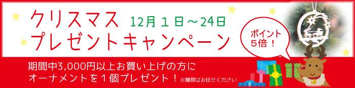 2015クリスマスキャンペーン