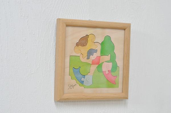 節句の組み木絵