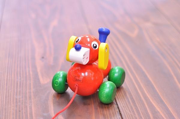 引っぱる・動かすおもちゃ ニック社(NIC) いぬのヴァルディ