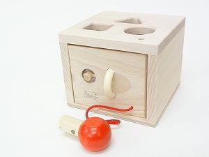 形を楽しむおもちゃ ニック社(NIC) キーボックス