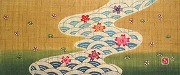 特製垂幕(川・金茶)