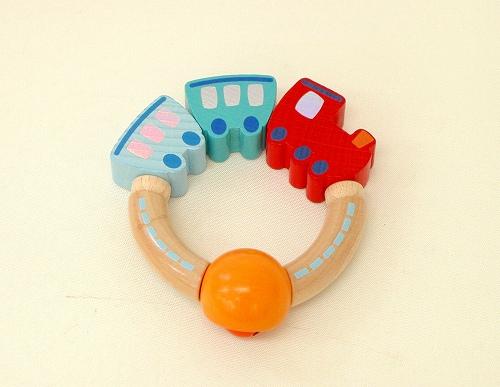 木のおもちゃ ハバ社 ラトル